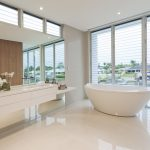 Modern bathroom in luxury Australian house